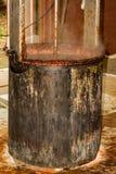 水壶苹果酱烹调 库存照片