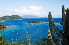 处女英国的海岛 免版税库存照片
