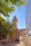 处所老城市采法特,上部内盖夫加利利,以色列的艺术家 图库摄影