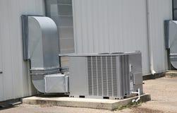处理单位的商业空气 库存图片
