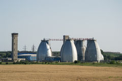 水处理厂 免版税库存照片