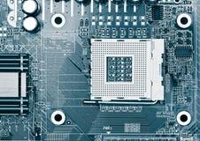 处理器插口 免版税库存照片