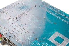 处理器的电子板材 免版税图库摄影