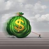 处理的财富企业概念 图库摄影