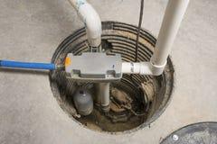 备用井底水窝水泵 库存图片