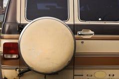 备用的有篷货车 免版税库存照片
