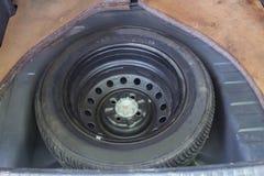 备用轮胎 免版税库存图片