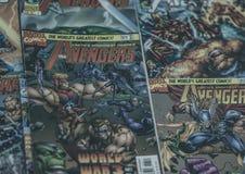 复仇者奇迹漫画超级英雄 免版税库存照片