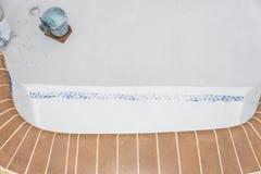 复出金刚石Brite细节的水池膏药 库存图片