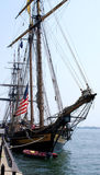 1812复制品帆船美国战争在多伦多彼得J Restivo 库存图片