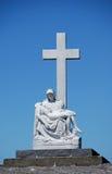 复制耶稣・玛丽圣母怜子图 免版税库存图片