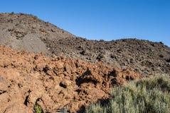 复式火山 免版税图库摄影