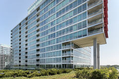 复杂公寓豪华 免版税库存照片