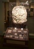 复杂地在Belz博物馆的被雕刻的中国艺术片断 免版税图库摄影