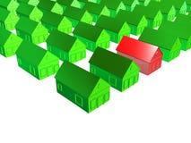 复杂房子 免版税图库摄影