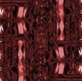 复杂未来派被转移的装饰品桃红色赤土陶器黑褐色黑色 向量例证