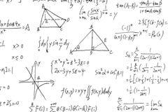 复杂算术惯例 图库摄影