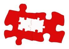 复杂解决方法 免版税库存照片