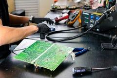 复杂计算机修理 库存图片