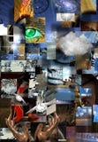 复杂超现实的抽象派 免版税图库摄影