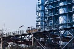 复杂部分精炼厂 库存照片