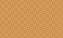 复杂金子,棕褐色和棕色镶边金刚石设计 库存照片