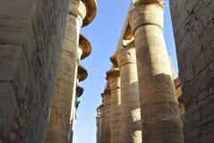 复杂karnak寺庙 免版税库存照片