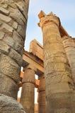 复杂karnak寺庙 库存图片