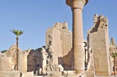 复杂karnak寺庙 免版税库存图片