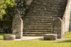 复杂Q蒂卡尔破坏危地马拉 免版税库存图片