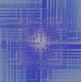 复杂Z形图案在与光的紫色和浅兰的树荫下 免版税库存照片