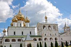 复活人` s修道院在Uglich,俄罗斯 库存图片
