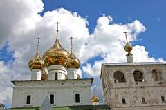 复活人` s修道院在Uglich,俄罗斯 免版税图库摄影