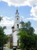 复活大教堂的Belltower Volokolamsk的克里姆林宫,莫斯科地区 免版税库存照片