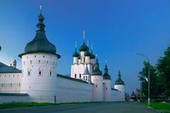 复活教会在Rostov克里姆林宫的 免版税库存图片