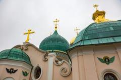 复活男性修道院, Istra,俄罗斯 免版税库存图片