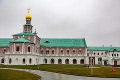复活男性修道院, Istra,俄罗斯 库存图片