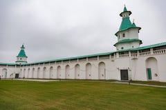 复活男性修道院, Istra,俄罗斯 库存照片