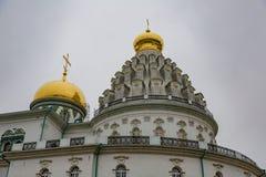 复活男性修道院, Istra,俄罗斯 免版税库存照片
