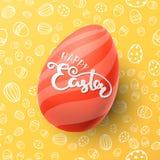 复活节传染媒介例证用鸡蛋 库存照片