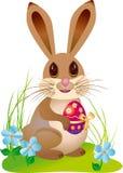 复活节兔子 免版税图库摄影