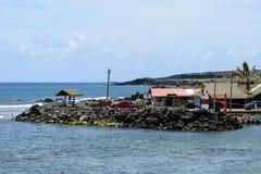 复活节岛,智利 免版税库存图片