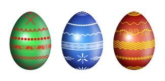 复活节彩蛋例证装饰品 免版税库存图片