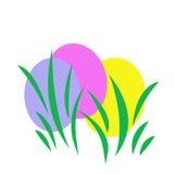 复活节彩蛋例证 库存图片