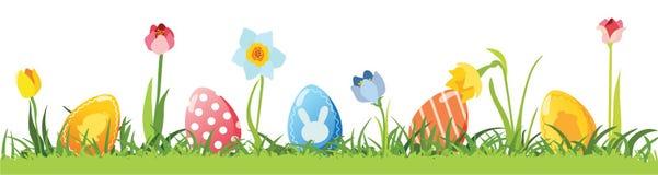 复活节彩蛋向量 免版税库存图片