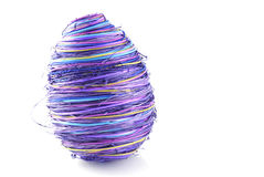 复活节彩蛋紫罗兰 库存照片