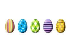 复活节彩蛋绘了 免版税库存图片