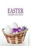 复活节彩蛋 库存照片
