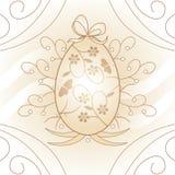 复活节彩蛋 皇族释放例证