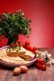 复活节意大利薄饼食谱rustica 免版税库存图片
